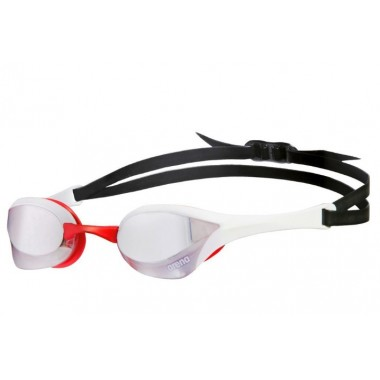 Cobra Ultra Mirror GOGGLE White/Red/Black