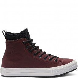 Converse Chuck Taylor All Star Waterproof Leather High Top Brick Natural