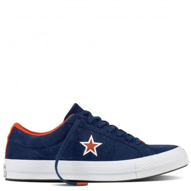 One Star Suede Molded Star navy