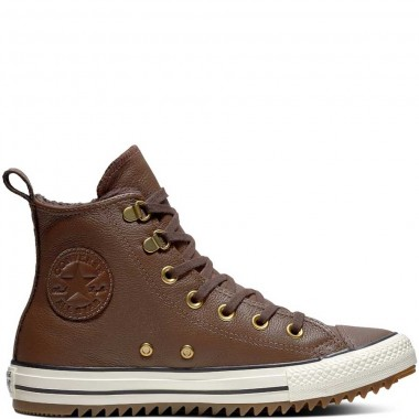 Chuck Taylor All Star Hiker Leather High Top Chocolate