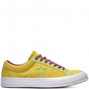 One Star Carnival Suede Low Top Apple Green