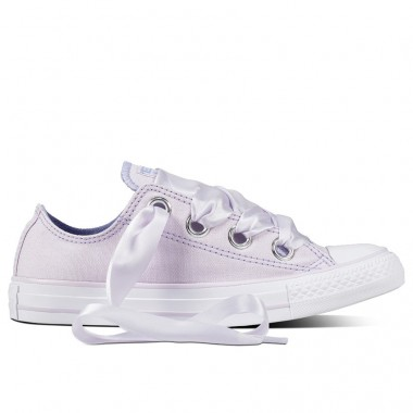 CHUCK TAYLOR ALL STAR BIG EYELETS PASTEL LOW Barely Grape