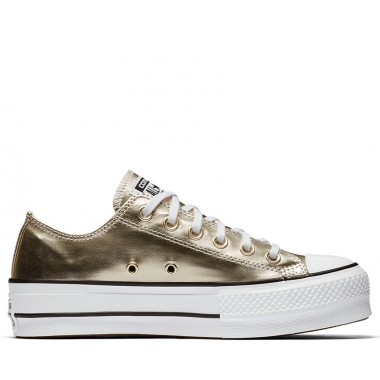 CHUCK TAYLOR ALL STAR LIFT LOW TOP Gold