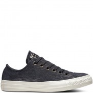 Chuck Taylor All Star Precious Metal Suede Low Black