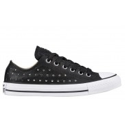 Chuck Taylor All Star Leather Stud Ox Black