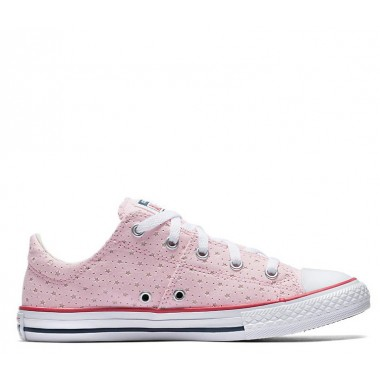 CTAL PERFORATED STAR MADISON LOW TOP Cherry Blossom