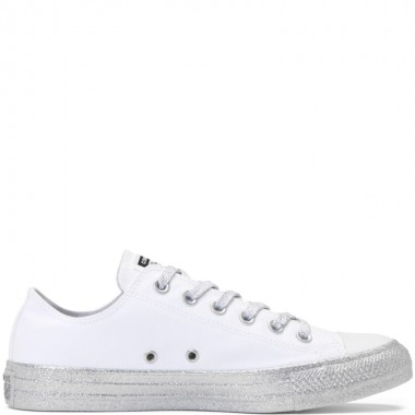 Converse x Miley Cyrus Chuck Taylor All Star White/Pure Platinum