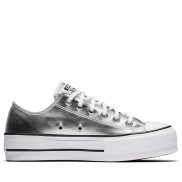 CHUCK TAYLOR ALL STAR LIFT LOW TOP Silver