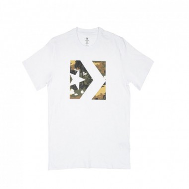 Converse Star Chevron Camo Fill Box Tee