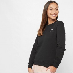 Women's Star Chevron Embroidered Crew Sweatshirt