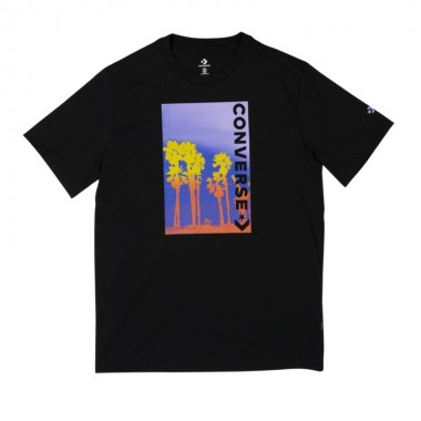 Converse Palm Tree Photo Tee Converse Black