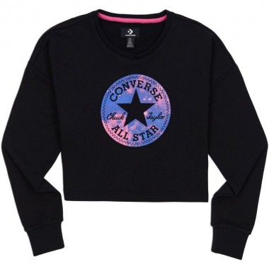 CONVERSE CHUCK PATCH NOVA CREW Sweatshirt Black