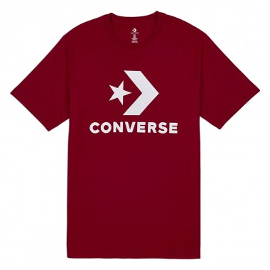 Converse Star Chevron T-Shirt Enamel RED