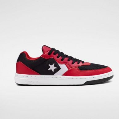 Converse Rival Shoot For The Moon Low Top Black/Enamel Red