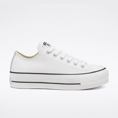 Chuck Taylor All Star Lift Clean Leather Low-Top