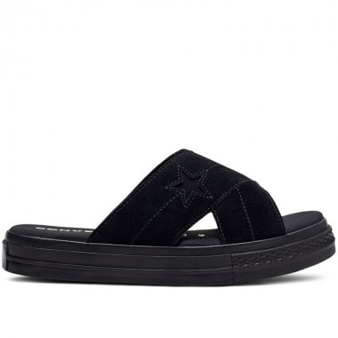 One Star Sandal ALL BLACK