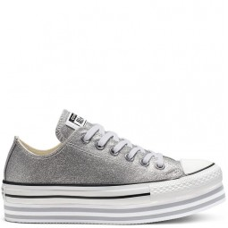Chuck Taylor All Star Platform EVA GREY/PRINT