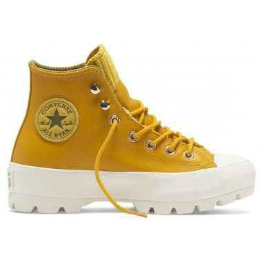 All Star Gore-Tex Lugged Waterproof Leather Gold