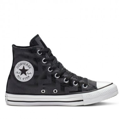 Chuck Taylor All Star HI BLACK/ALMOST BLACK/WHITE