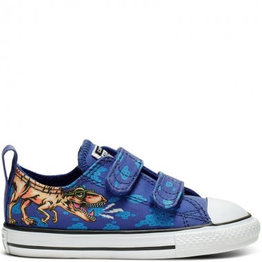 Chuck Taylor All Star Dino's Beach Party Hook and Loop Low Top