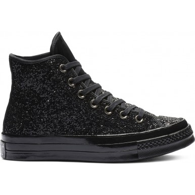 CHUCK 70 AFTER PARTY GLITTER HIGH TOP Black