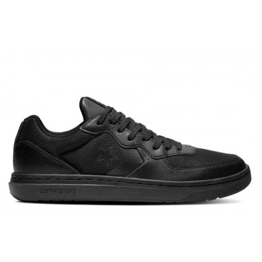 CONVERSE RIVAL LEATHER – OX All Black