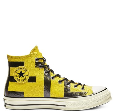 Chuck 70 GORE-TEX Leather High Top Bold Citron