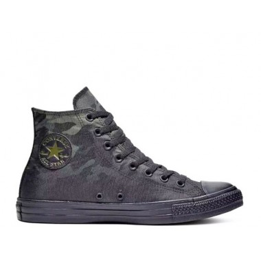 Converse Chuck Taylor All Star High Camo Green