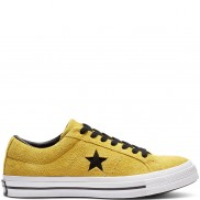 One Star Dark Star Vintage Suede Low Top Bold Citron