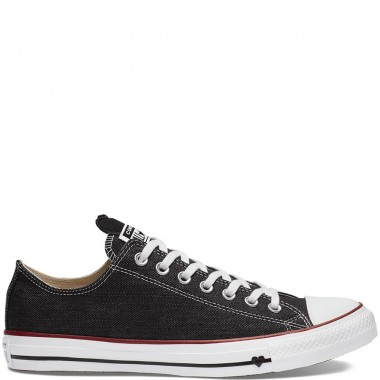 Chuck Taylor All Star Denim Love Low Top Black