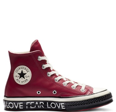 Chuck 70 Love Graphic High Top Red