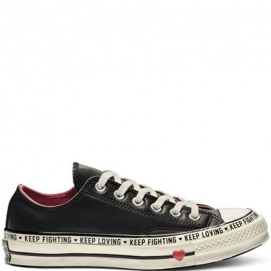 Chuck 70 Love Graphic Low Top Black