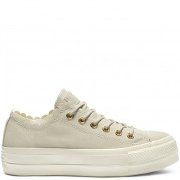 Chuck Taylor All Star Lift Frilly Thrills Egret