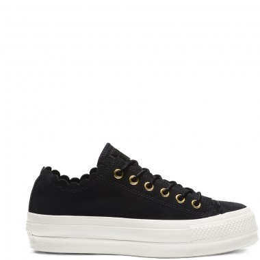 Chuck Taylor All Star Lift Frilly Thrills Black
