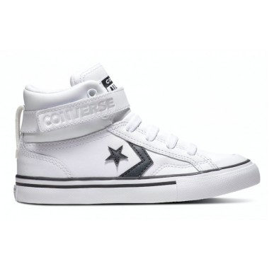 Converse All Stars Pro Blaze Strap Junior White