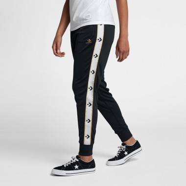 WOMEN'S STAR CHEVRON TRACK PANT Black
