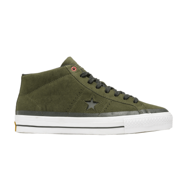 Converse One Star Pro Suede Green