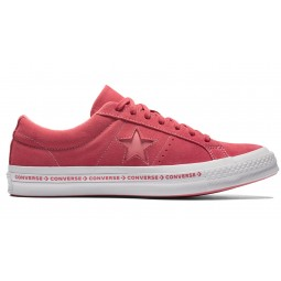 Converse One Star OX Plimsolls In Pink