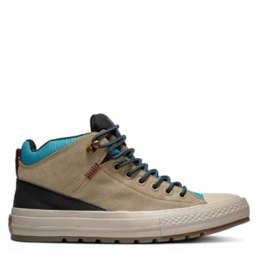 CHUCK TAYLOR ALL STAR STREET BOOT Leather Khaki