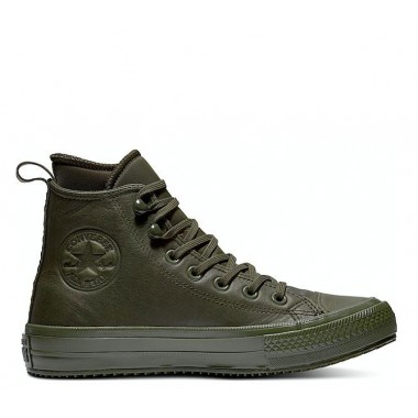 Chuck Taylor All Star Waterproof Leather Boot Olive