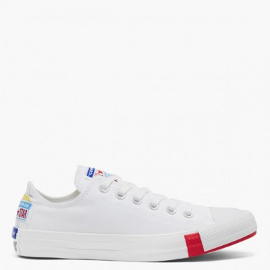 CTAS OX WHITE/UNIVERSITY RED/BLACK