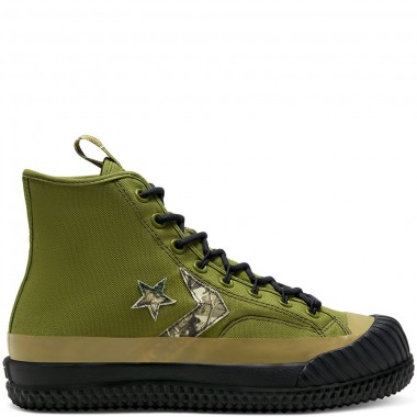 Unisex Real Tree Bosey MC High Top Combat Green