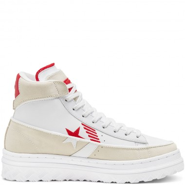 Unisex Rivals Pro Leather X2 High Top Egret