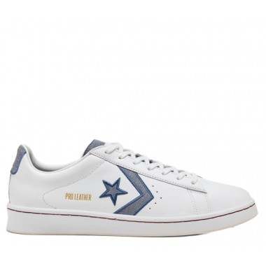 Converse Pro Leather White/Blue
