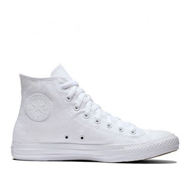 Chuck Taylor All Star HI White Monochrome