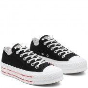 Love Fearlessly Platform Chuck Taylor All Star Low Top Shoe