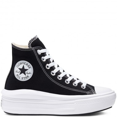 Women's Chuck Taylor All Star Move High Top Black