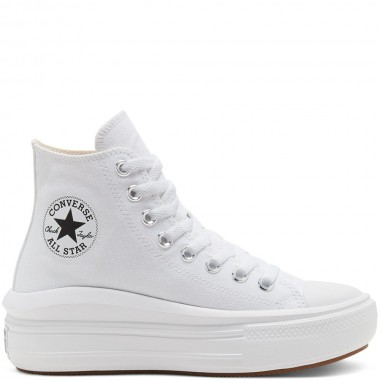 Women's Chuck Taylor All Star Move High Top White