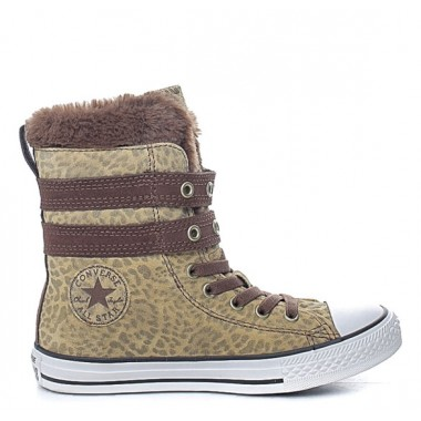 CONVERSE HAUTE Boots Brown