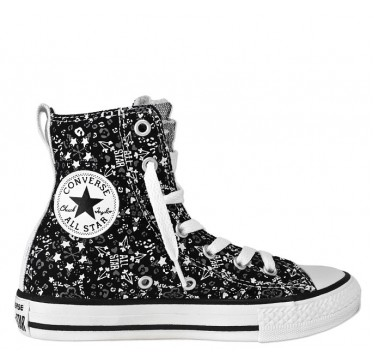 Chuck Taylor All Star Party Hi Black & White